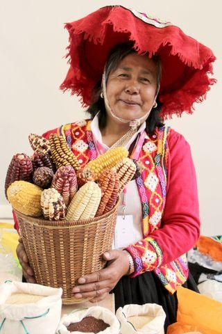 mujer perú